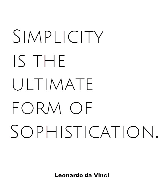 Interior Design Quote of the Week by Leonardo Da Vinci Boudreaux