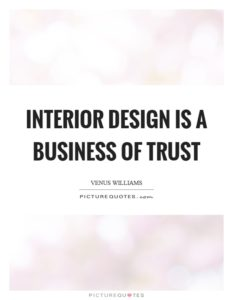 Interior Design Quote Of The Week By Venus Williams
